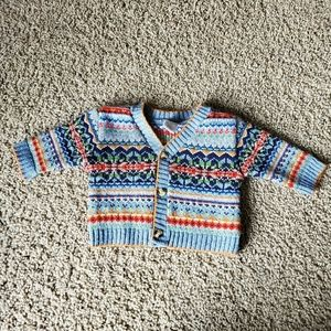 Vintage starting out baby boy sweater